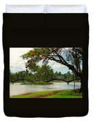 Bridges At Wailoa Duvet Cover