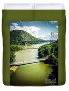 Bridges Through The Valley Duvet Cover