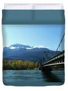 Bridging The Seasons Duvet Cover