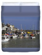 Bridlington Harbour Duvet Cover