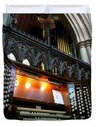 Bridlington Priory Pipe Organ Duvet Cover