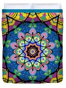Brigadoon No. 1 Kaleidoscope Duvet Cover