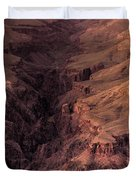 Bright Angel Canyon Grand Canyon National Park Duvet Cover