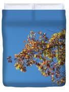 Bright Autumn Branch Duvet Cover