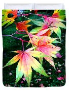 Bright Autumn Leaves Tatton Park Duvet Cover