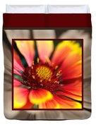 Bright Blanket Flower With Design Duvet Cover