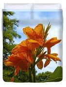 Bright Bloom Duvet Cover