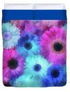 Bright Blossoms Duvet Cover