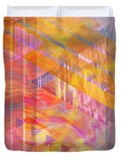 Bright Dawn Duvet Cover