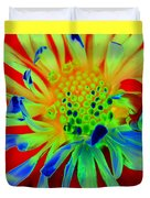 Bright Flower Duvet Cover