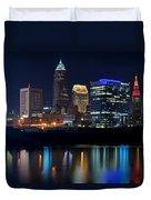 Bright Lights City Nights Duvet Cover