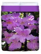 Bright-lillac Flowers 6-22-a Duvet Cover