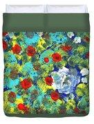 Bright Roses Duvet Cover