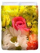 Bright Spring Flowers Duvet Cover