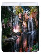 Bright Waterfalls Duvet Cover