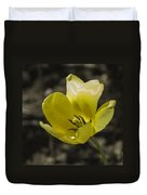 Bright Yellow Tulip Squared Duvet Cover