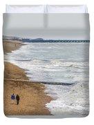 Brighton Shore Duvet Cover