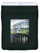 Brighton's West Pier-lone Survivor Duvet Cover
