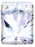 Brilliant Diamond  Duvet Cover by Setsiri Silapasuwanchai
