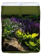 Brilliant Green Sunshine - Impressions Of Spring Duvet Cover
