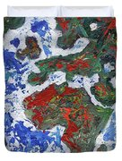 Brilliant World - Middle Panel Duvet Cover