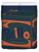 Brillo Box Colored 6 - Warhol Inspired Duvet Cover