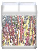 Brimstone Forest Duvet Cover
