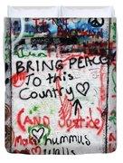 Bring Peace Duvet Cover