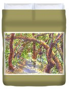 Briones Forest Near Springhill Road Duvet Cover