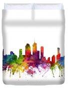 Brisbane Australia Cityscape 06 Duvet Cover