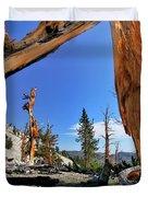Bristlecone Pine Forest Duvet Cover