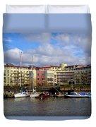 Bristol Harbour Appartments Duvet Cover