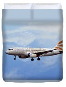 British Airways Airbus A319-131 Duvet Cover