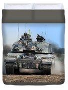 British Army Challenger 2 Main Battle Tank   Duvet Cover