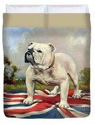 British Bulldog Duvet Cover