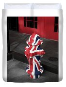 British Fire Hydrant Duvet Cover