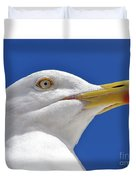 British Herring Gull Duvet Cover