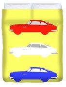 British Icon - Aston Martin Db5 Duvet Cover