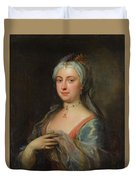 British Lady Mary Wortley Montagu Duvet Cover