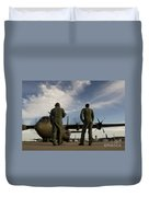 British Royal Air Force C-130j Duvet Cover