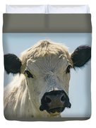 British White Cow Duvet Cover