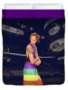 Brittney Griner Lgbt Pride 2 Duvet Cover