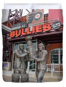 Broad Street Bullies Pub - Clarke And Parant Duvet Cover