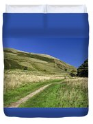 Broadlee-bank Tor From The Pennine Way Duvet Cover