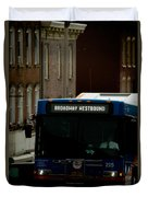 Broadway Westbound Duvet Cover