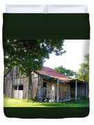Brokedown Barn Duvet Cover