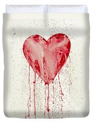 Broken Heart - Bleeding Heart Duvet Cover