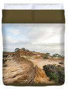 Broken Hill At Sunset Duvet Cover