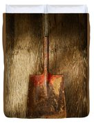 Tools On Wood 2 Duvet Cover