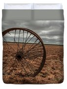 Broken Spokes Duvet Cover